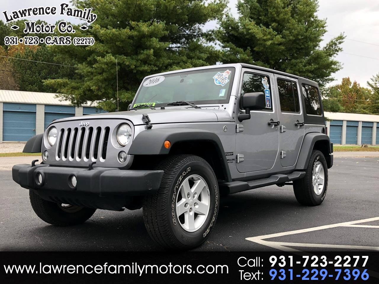 2016 Jeep Wrangler 4WD 4dr Sport