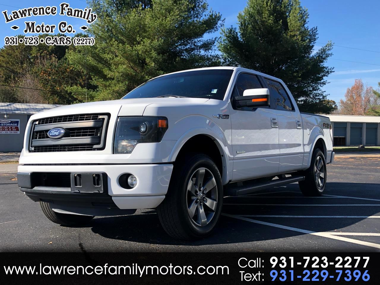 "2013 Ford F-150 2WD SuperCrew 145"" FX2 Sport"