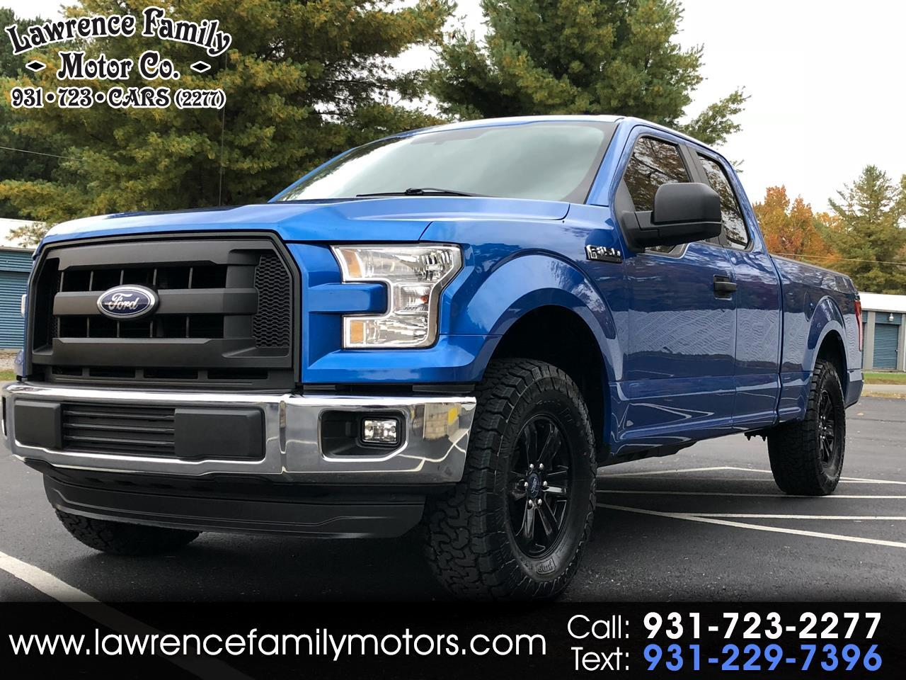 2015 Ford F-150 XL Reg. Cab Long Bed 2WD