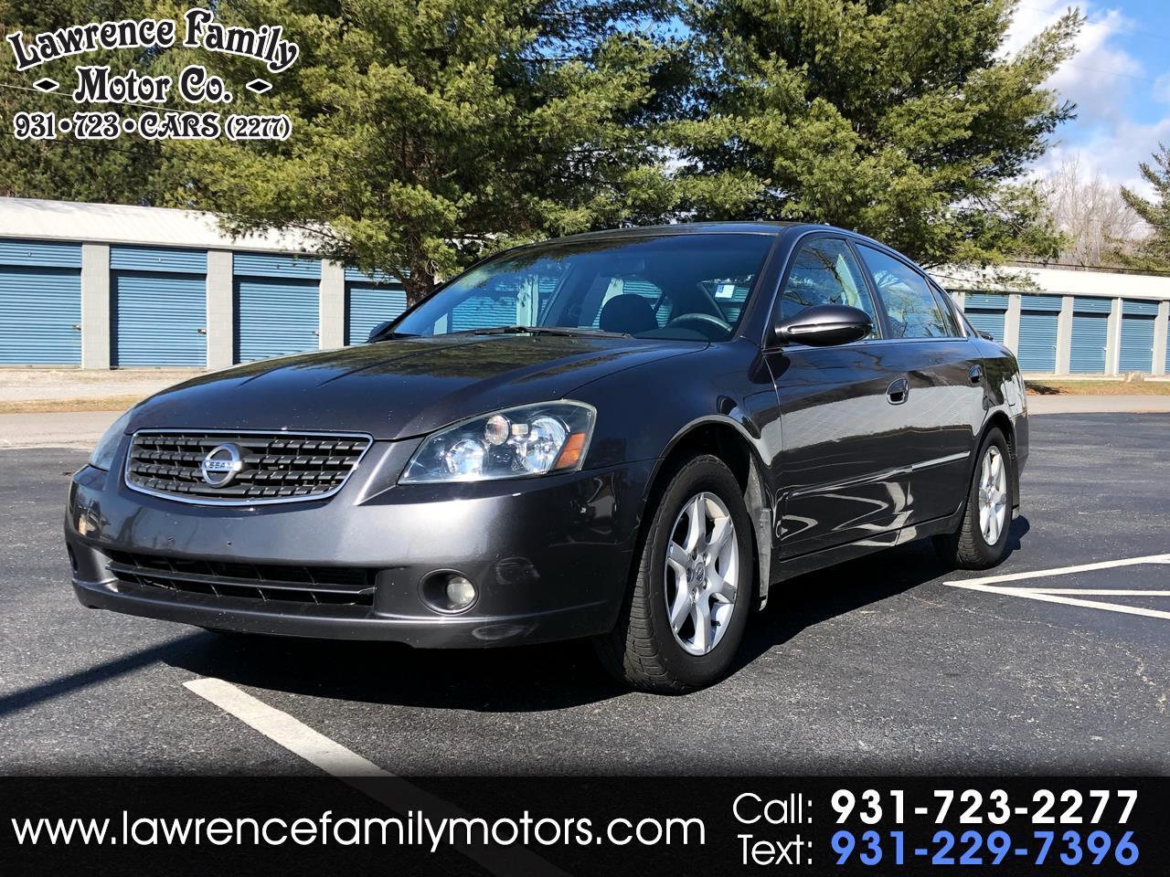 2005 Nissan Altima 4dr Sdn I4 Auto 2.5 S