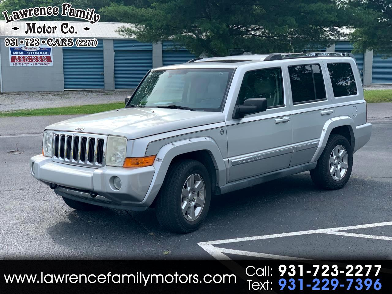 2006 Jeep Commander 4dr Limited 4WD