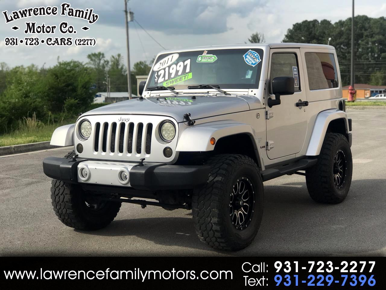2011 Jeep Wrangler 4WD 2dr 70th Anniversary *Ltd Avail*