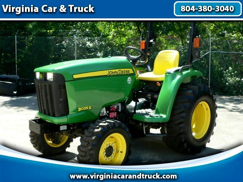 2017 John Deere Tractor 3025e