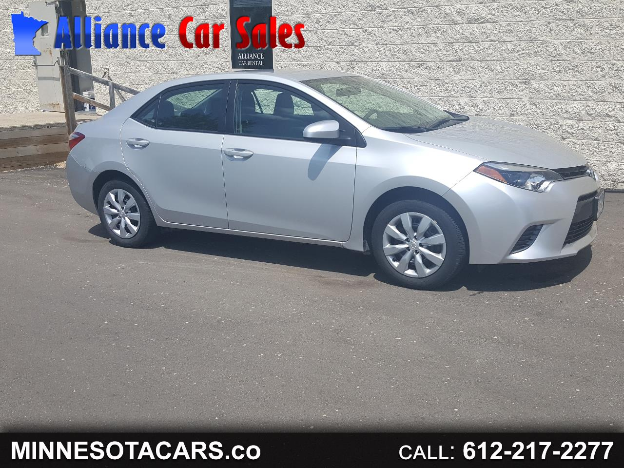 2016 Toyota Corolla LE 4-Speed AT