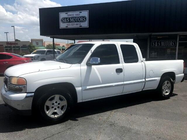 2002 GMC Sierra 1500 SLE Ext. Cab Short Bed 2WD