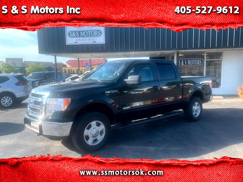 Ford F-150 XLT SuperCrew 5.5-ft. Bed 4WD 2013