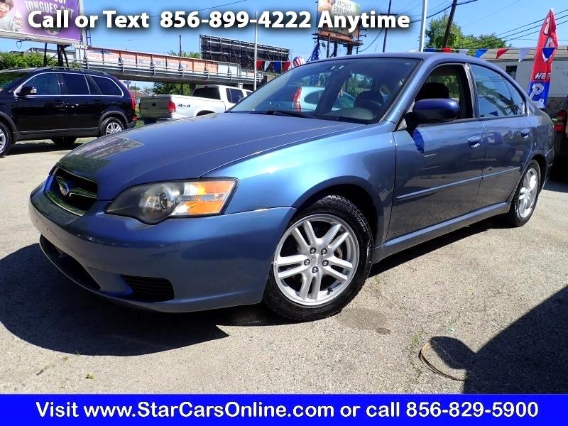 2005 Subaru Legacy Sedan (Natl) 2.5i Manual