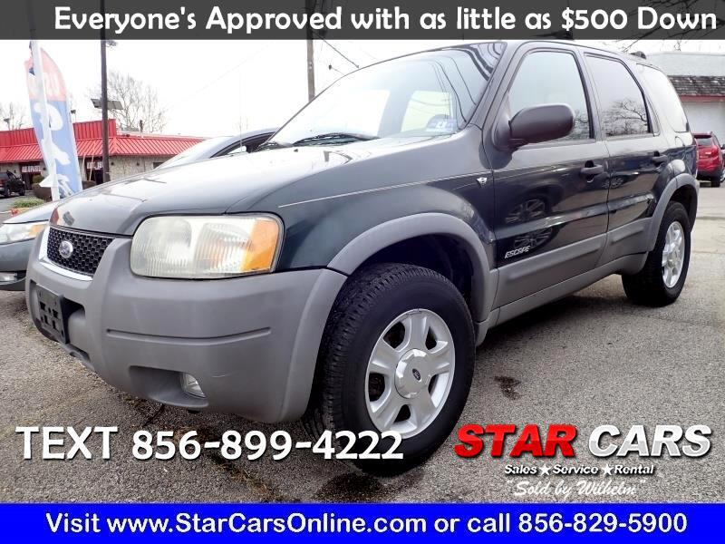 "Ford Escape 4dr 103"" WB XLT 4WD 2001"