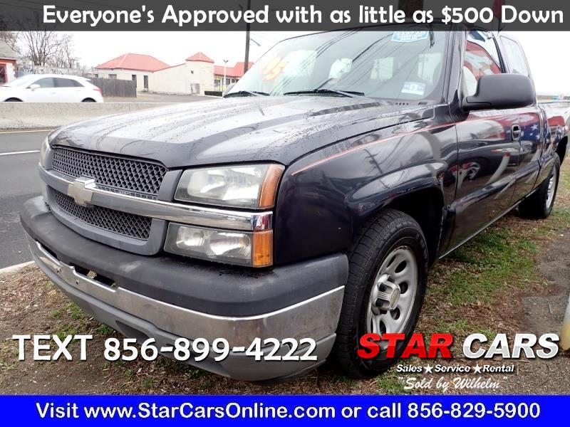 """Chevrolet 1500 Ext Cab 143.5"""" WB Work Truck 2005"""