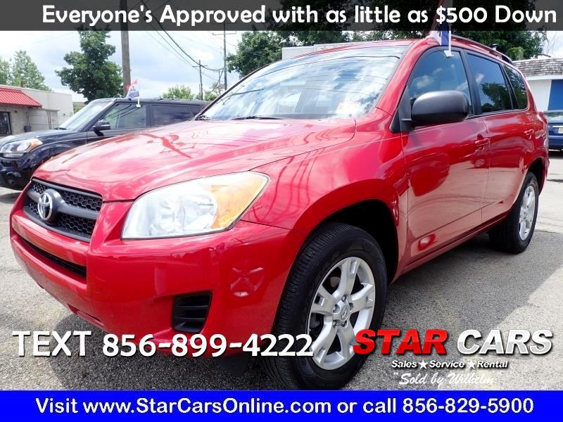 Toyota RAV4 4WD 4dr 4-cyl 4-Spd AT (Natl) 2011