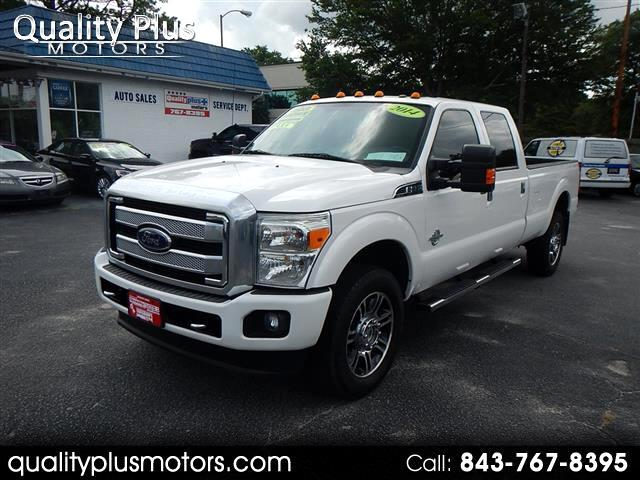 2014 Ford F-350 SD King Ranch Crew Cab 4WD