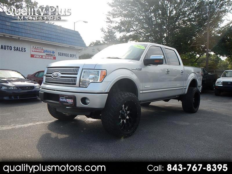 2012 Ford F150 Platinum SuperCrew 5.5ft Bed 4WD