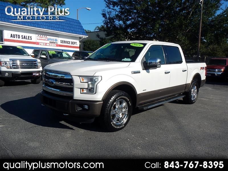 Ford F-150 Lariat SuperCrew Short Bed 4WD 2015