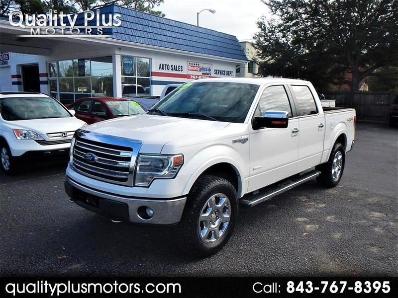 Ford F-150 King Ranch SuperCrew Short Bed 4WD 2013