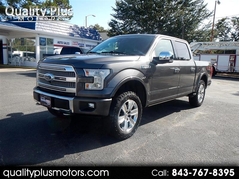 Ford F150 Platinum Supercrew 4WD 2015
