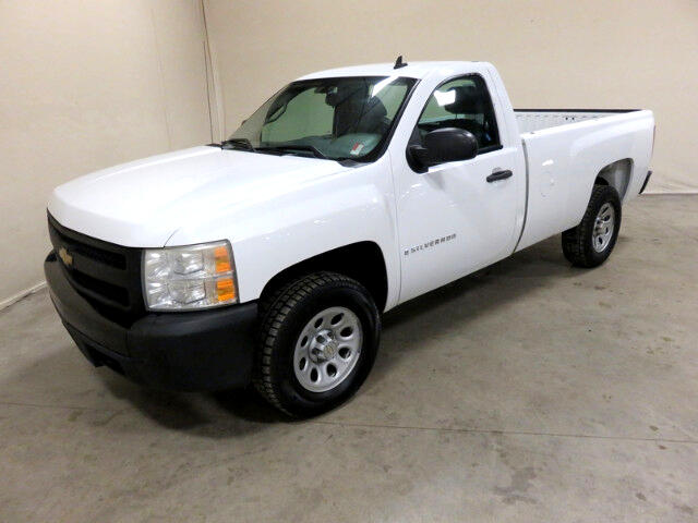 2008 Chevrolet Silverado 1500 Work Truck Long Box 4WD