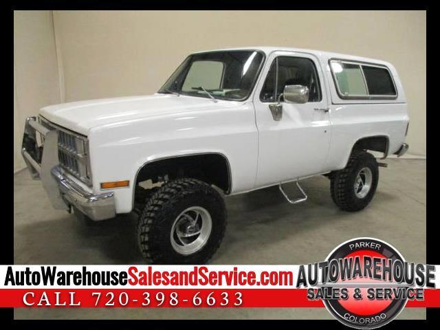 1981 Chevrolet C/K 10 Blazer 4WD