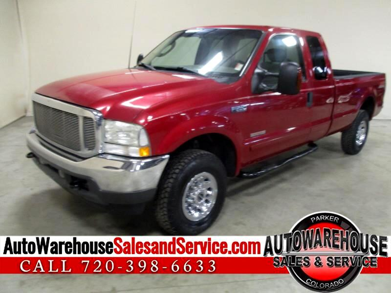 2003 Ford F-250 SD XLT SuperCab Long Bed 4WD