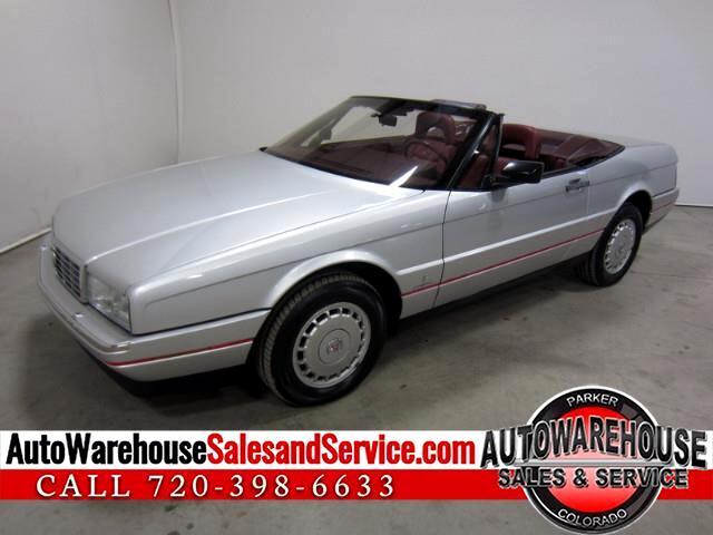 1987 Cadillac Allante Base 4-1L V8 FWD CONVERTIBLE