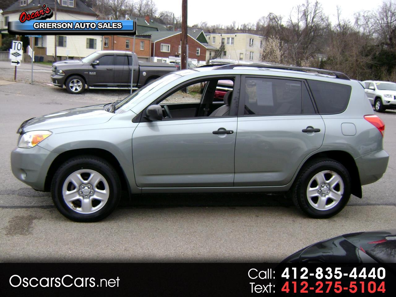 2008 Toyota RAV4 4WD 4dr 4-cyl 4-Spd AT (Natl)
