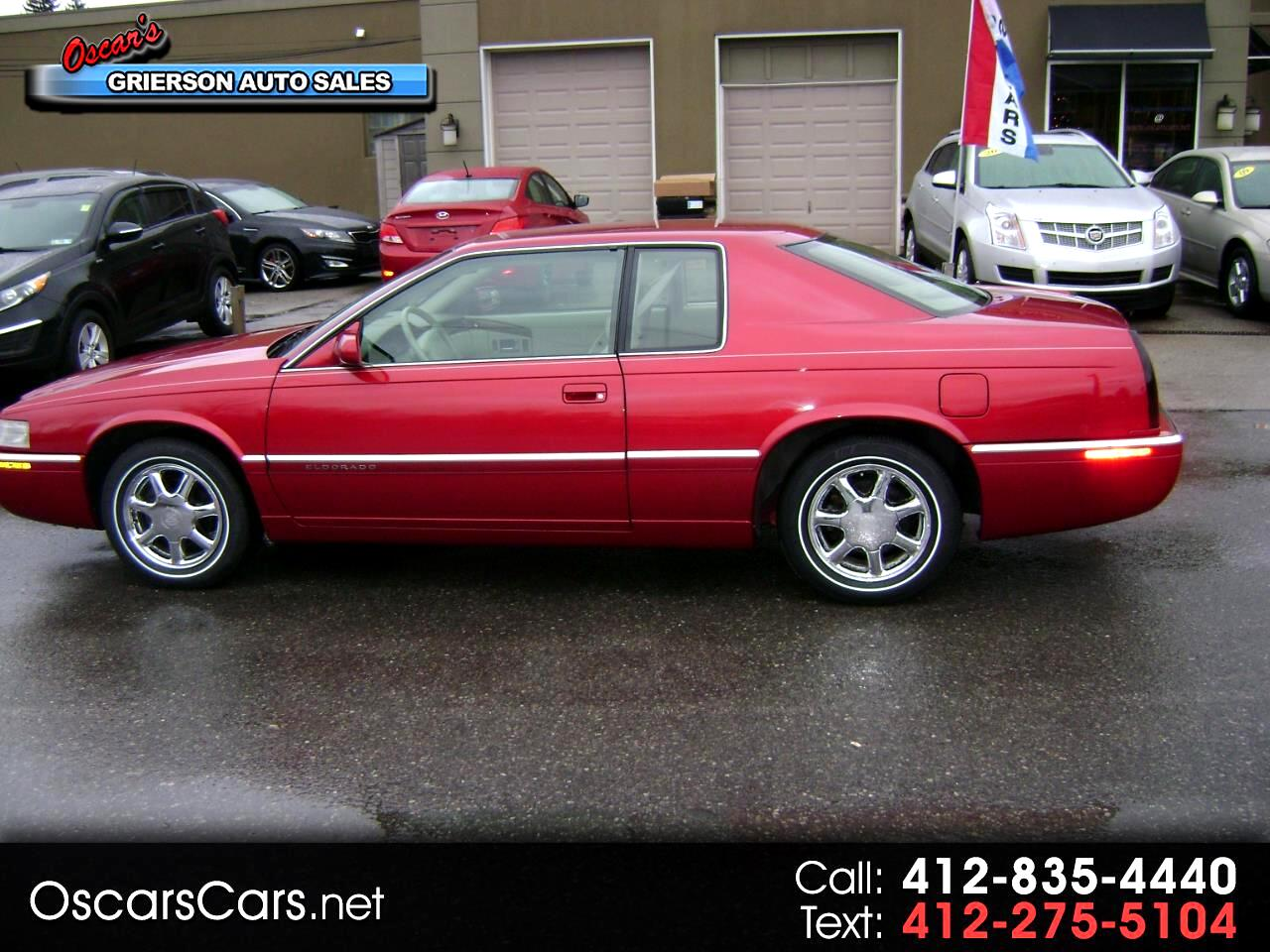 1996 Cadillac Eldorado 2dr Cpe