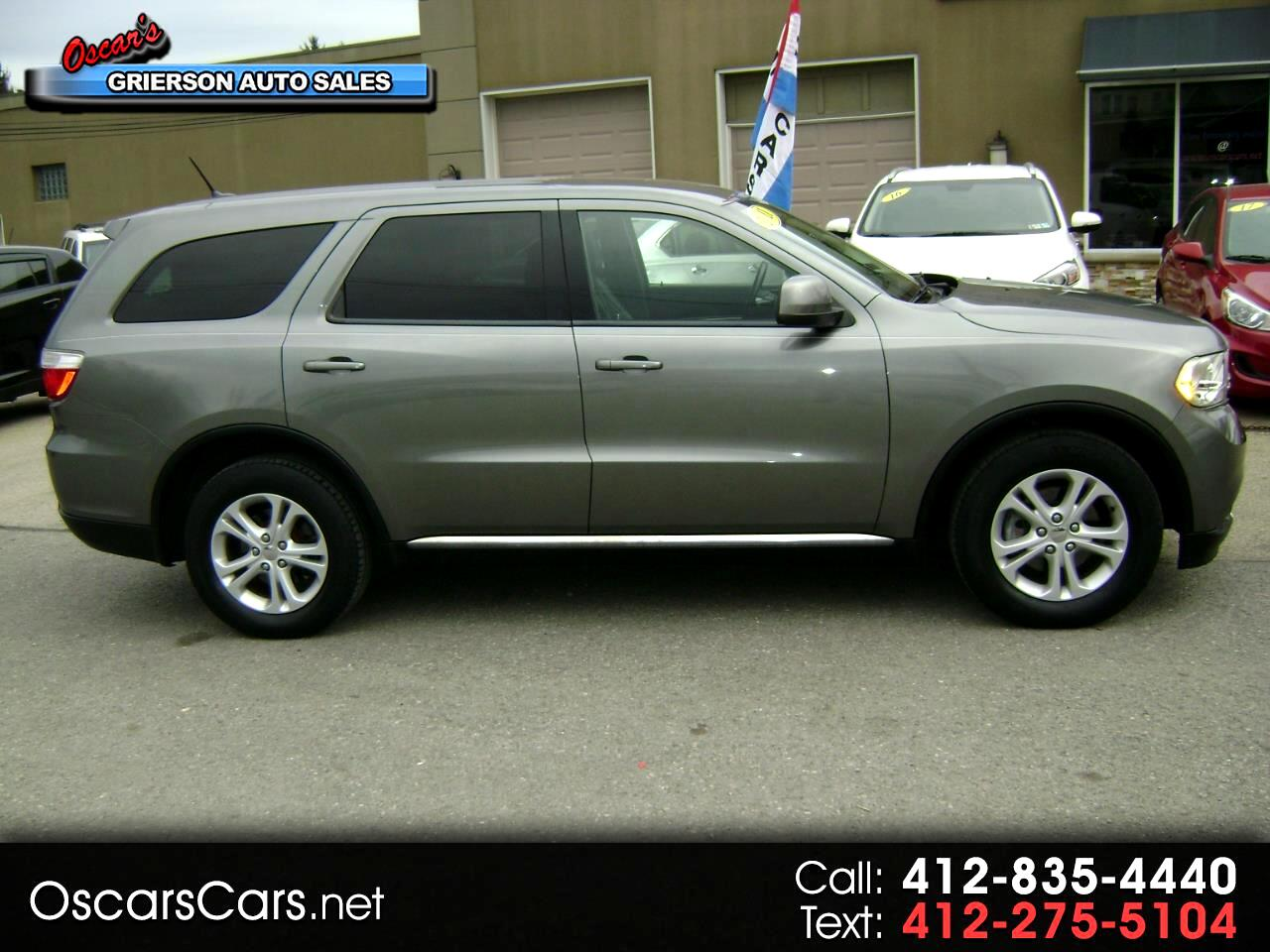 2011 Dodge Durango AWD 4dr Express