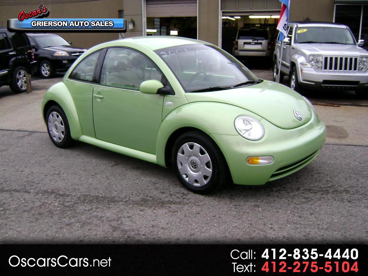 2001 Volkswagen New Beetle 2dr Cpe GL Auto