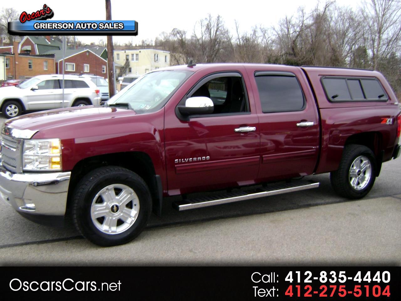 """2013 Chevrolet Silverado 1500 4WD Crew Cab 143.5"""" LT"""