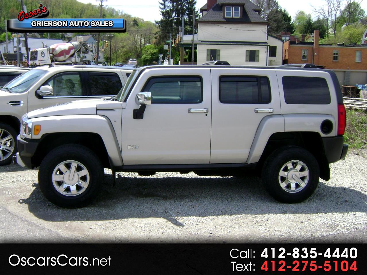 2009 HUMMER H3 4WD 4dr SUV Luxury