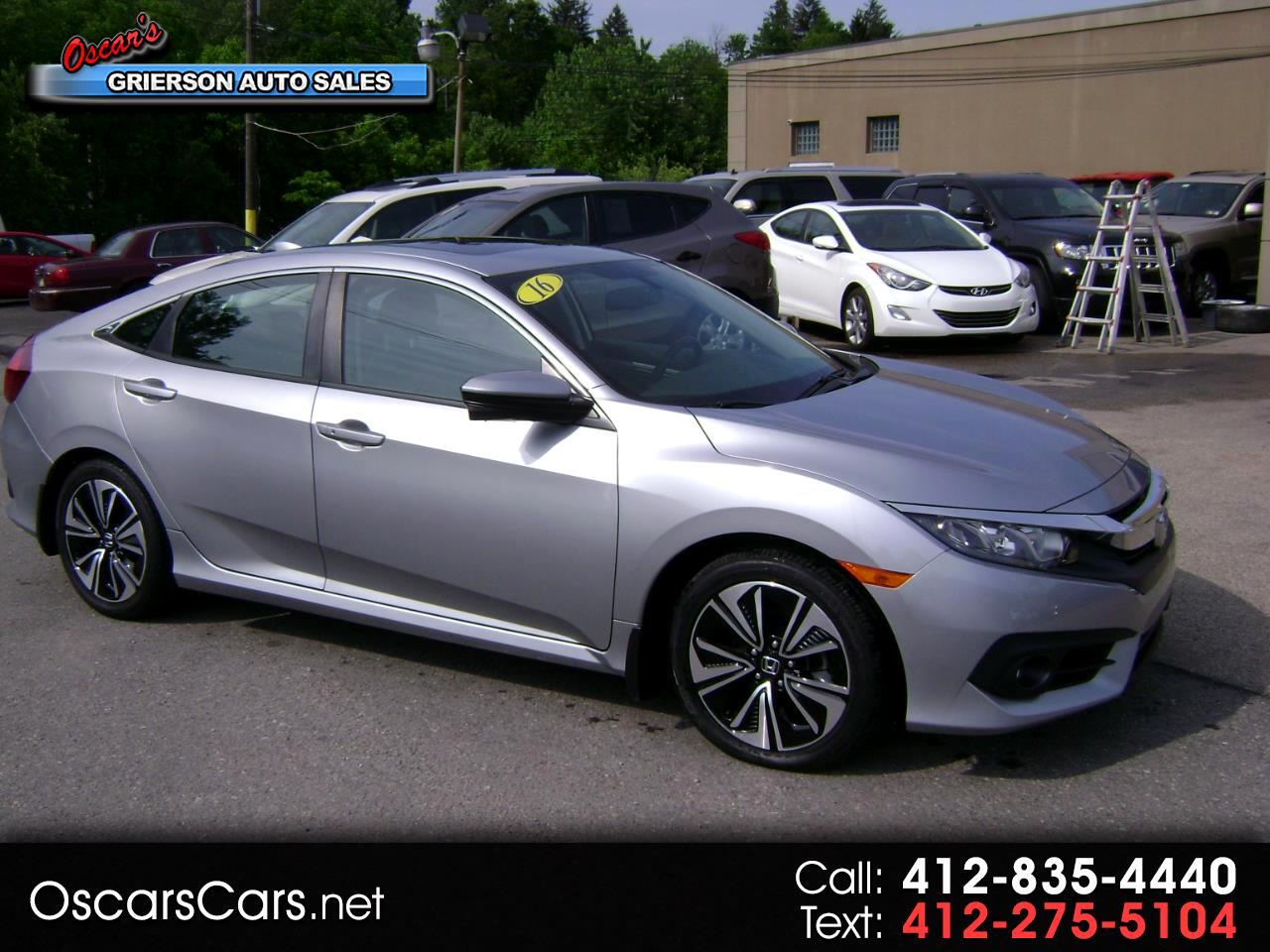 2016 Honda Civic Sedan 4dr CVT EX-L