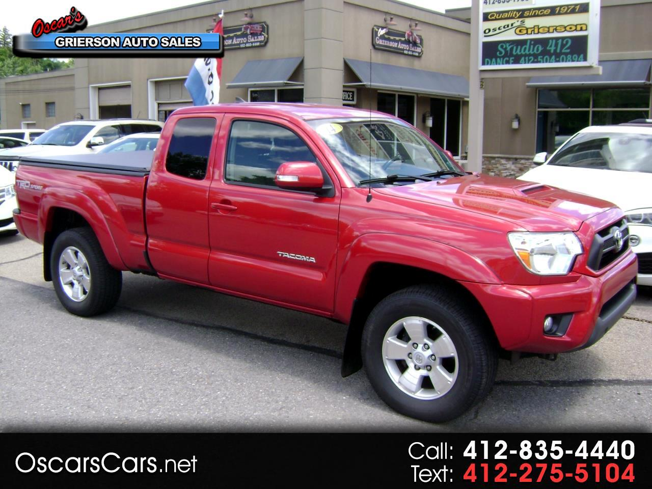2014 Toyota Tacoma 4WD Access Cab V6 AT TRD Sport (Natl)