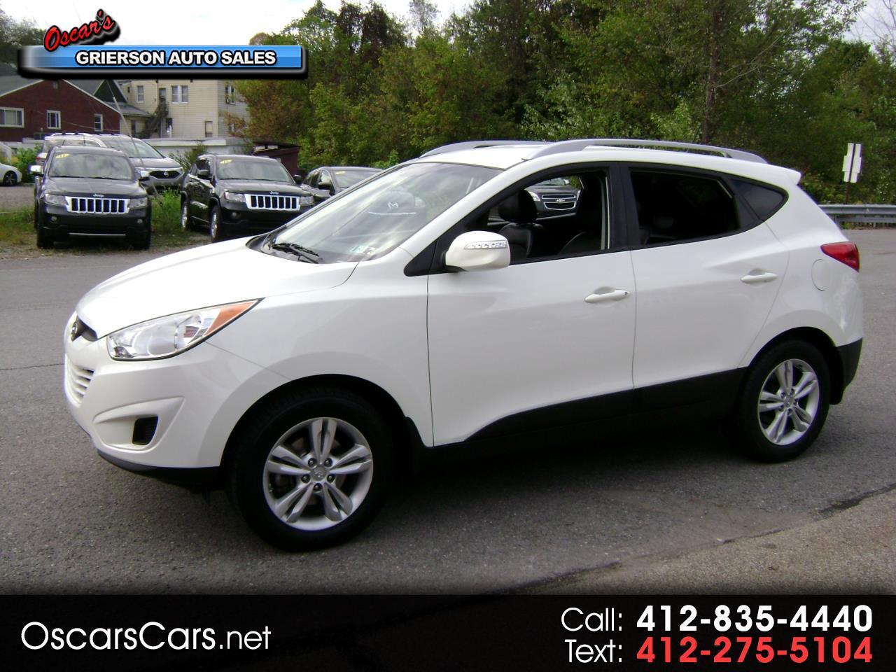 2012 Hyundai Tucson AWD 4dr Auto GLS PZEV