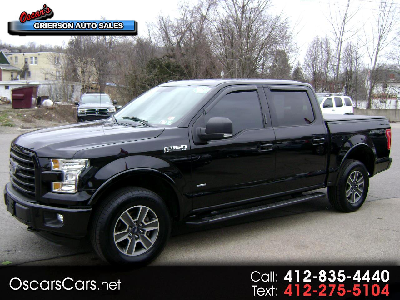 "Ford F-150 4WD SuperCrew 145"" XLT 2016"