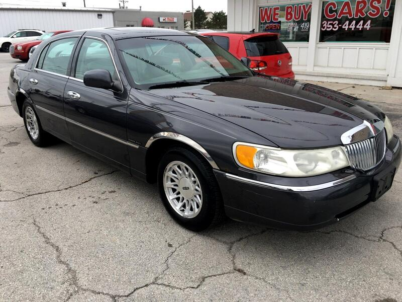 Used 1998 Lincoln Town Car For Sale In Bowling Green Oh 43402
