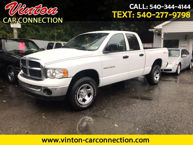 2004 Dodge Ram 1500 Quad Cab Short Bed 4WD