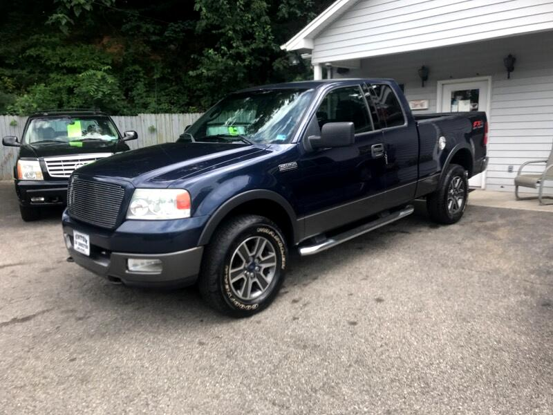 2004 Ford F-150 FX4 SuperCab 5.5-ft Box 4WD