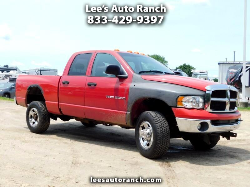 2004 Dodge Ram Pickup Laramie Quad Cab Long Bed 4WD