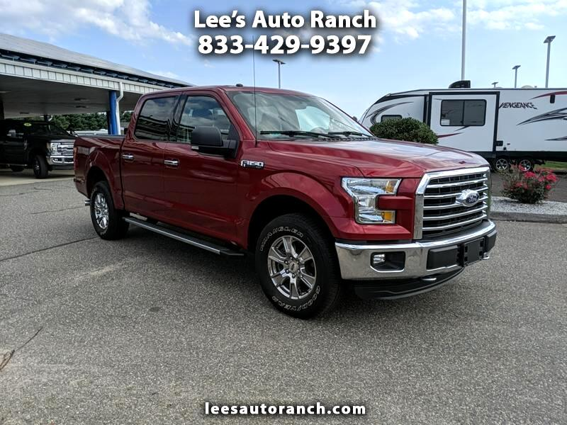 16 Ford F-150 XLT SuperCrew Short Box 4WD