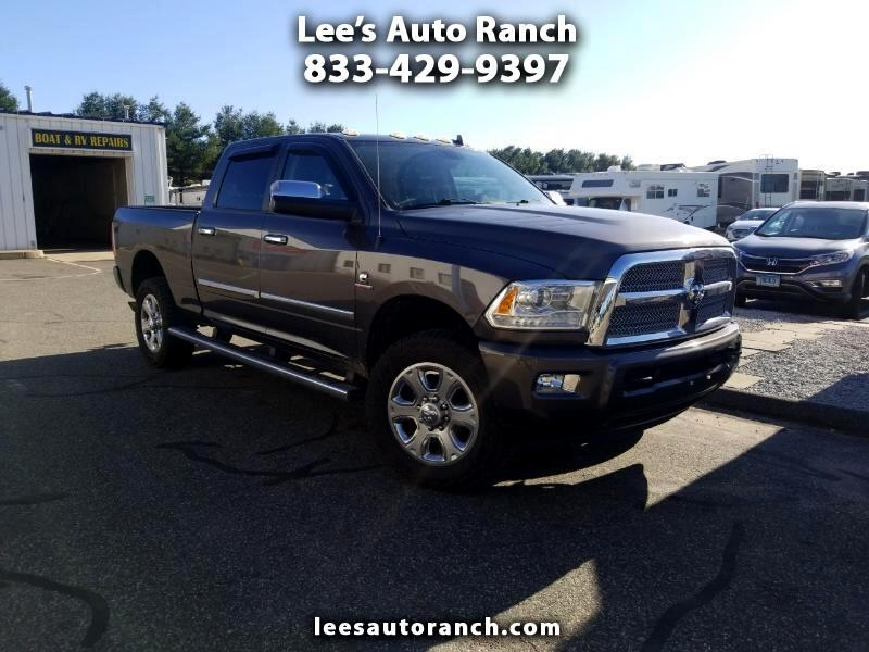2014 RAM 2500 Crew Cab Limited 4WD Short Bed