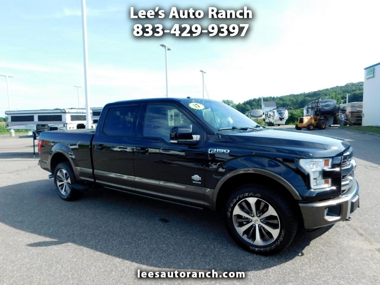 """Ford F-150 4WD SuperCrew 157"""" King Ranch 2017"""