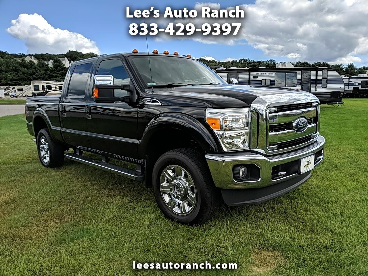 Ford F-350 SD Lariat Crew Cab Short Bed 4WD 2015