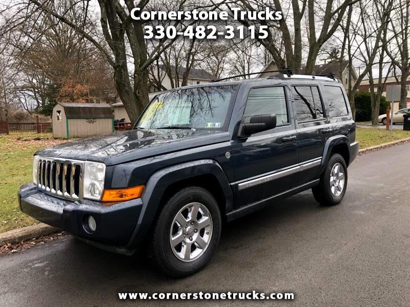 used 2007 jeep commander limited 4wd for sale in. Black Bedroom Furniture Sets. Home Design Ideas