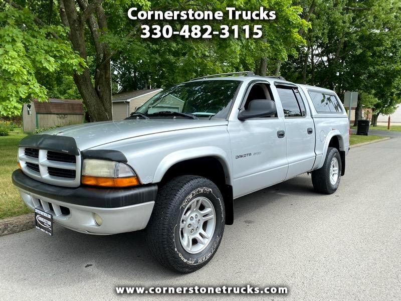 Dodge Dakota 4dr Quad Cab 131 4WD SLT 2002