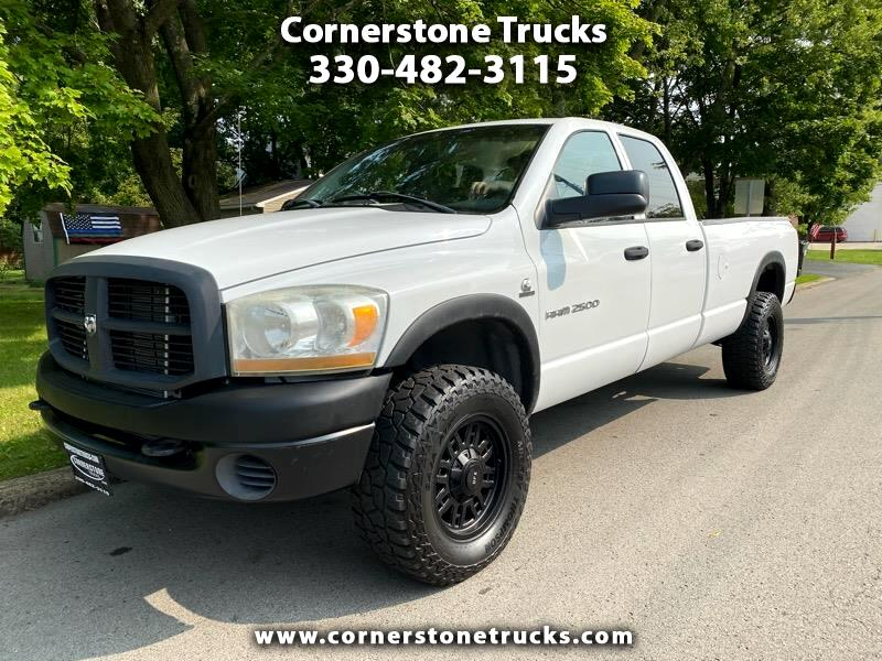 Dodge Ram 2500 ST Quad Cab Long Bed 4WD 2006