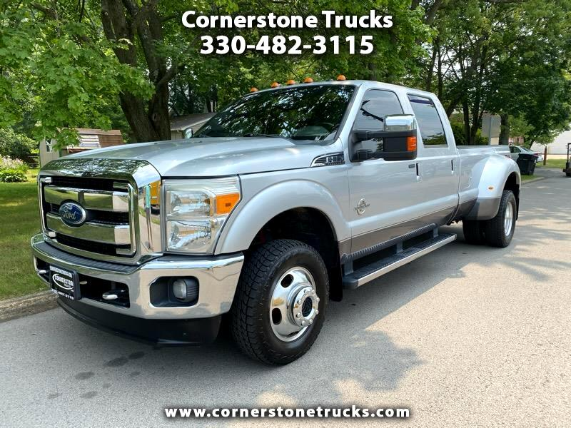 Ford F-350 SD Lariat Crew Cab Long Bed 4WD DRW 2011