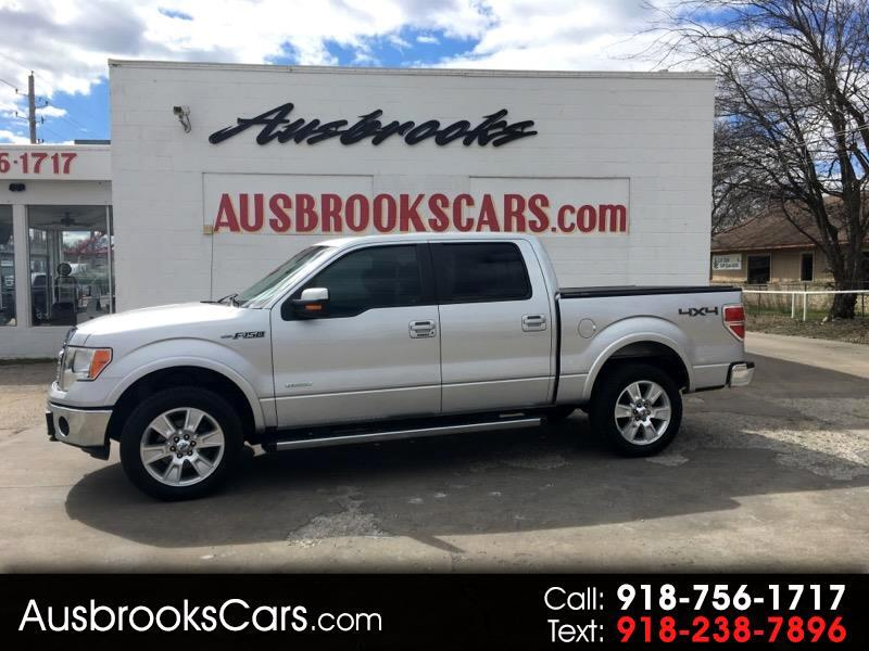 "2013 Ford F-150 SuperCrew 150"" Lariat 4WD"