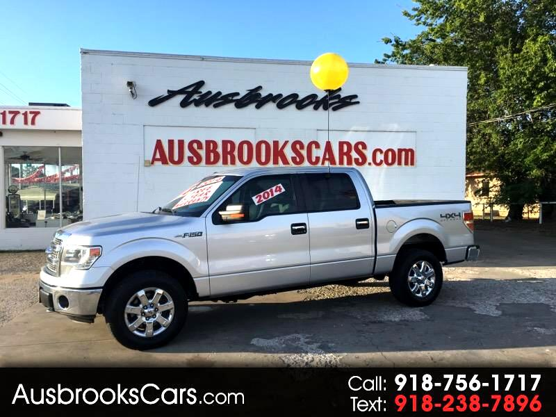 "Ford F-150 4WD SuperCrew 139"" Lariat 2014"