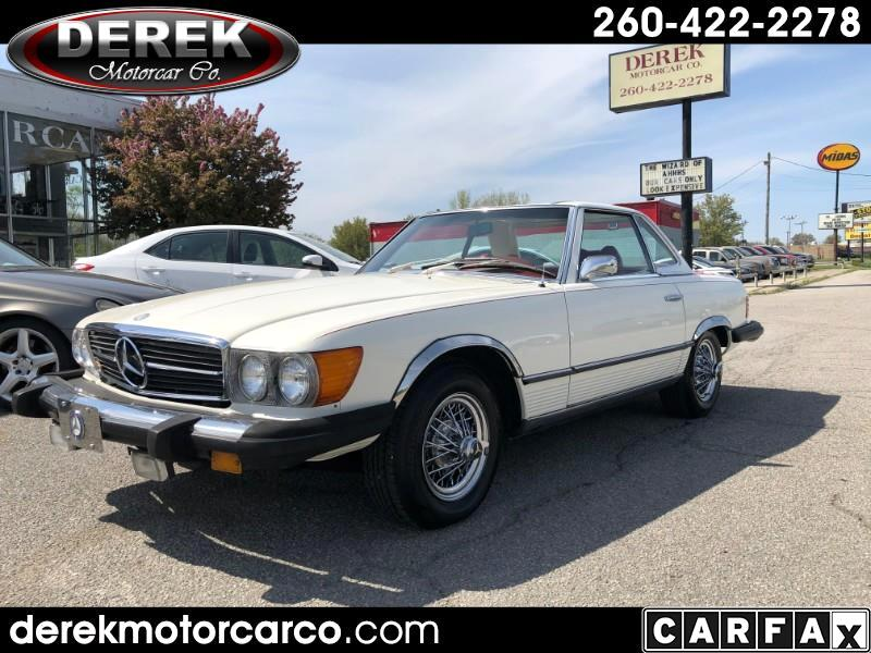 Mercedes-Benz 450 SL Convertible 1974
