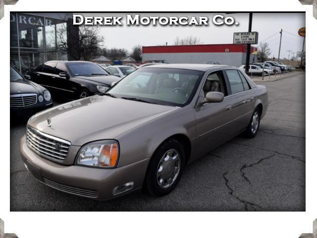 2001 Cadillac DeVille 4dr Sdn