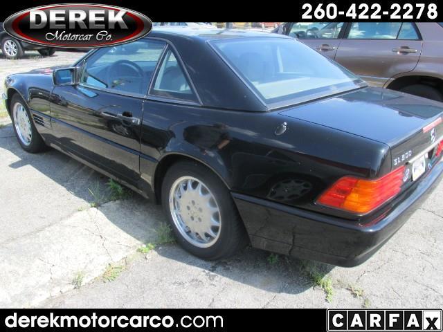 Mercedes-Benz SL-Class 500SL coupe 1992